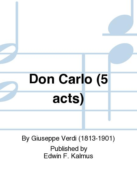 Don Carlo (5 acts)