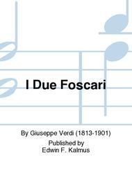 I Due Foscari Vocal Score
