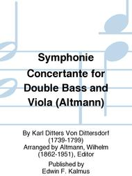 Symphonie Concertante for Double Bass and Viola (Altmann)