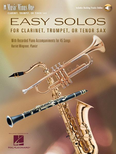 Easy Clarinet Solos, Vol. I - Student Level