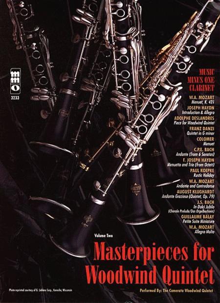 Woodwind Quintets, Volume. II: Masterpieces for Woodwind Quintet