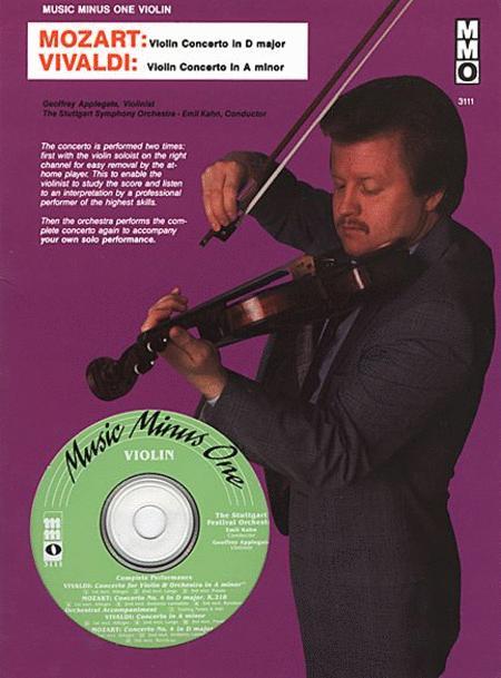 Mozart - Violin Concerto No. 4 in D Major, KV218 & Vivaldi - Concerto in A Minor, Op. 3 No. 6