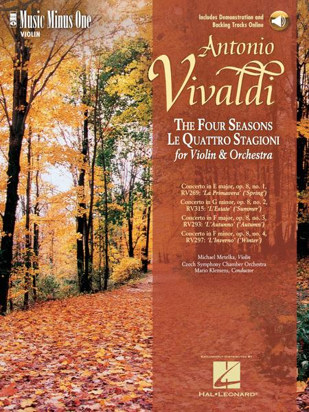 Vivaldi - Le Quattre Stagioni (The Four Seasons) for Violin and Orchestra