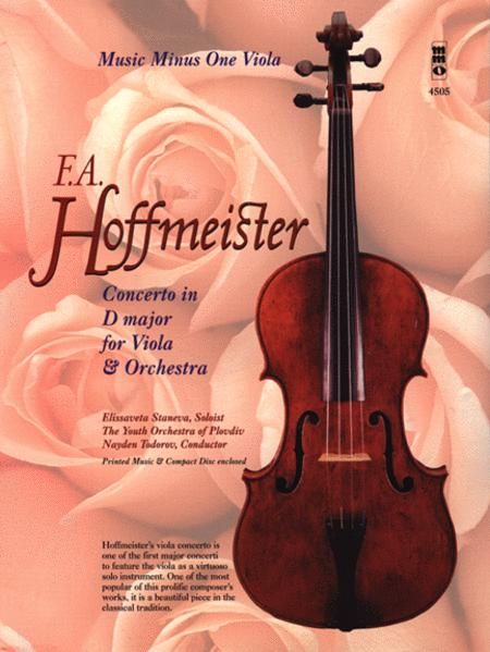 Concerto In D Major For Viola & Orchestra