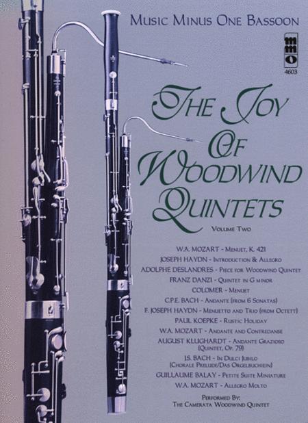Woodwind Quintets, Volume II: The Joy of Woodwind Quintets