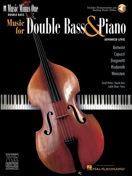 Music for Double Bass & Piano - Advanced Level