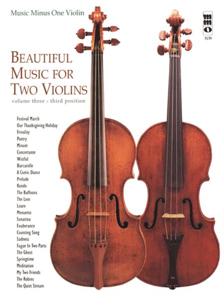 Beautiful Music For 2 Violins (3rd position)   Vol.3