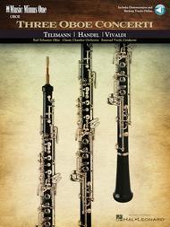 Three Oboe Concerti