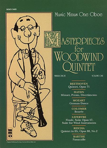 Masterpices for Woodwind Quintet - Volume One