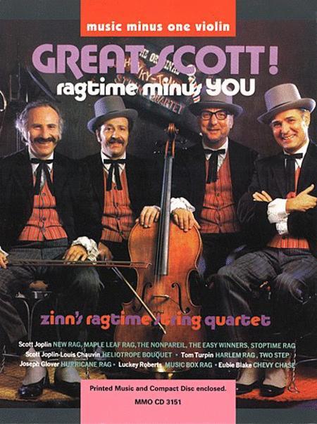 Great Scott! Ragtime String Quartets