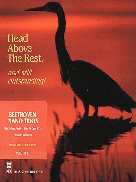 Beethoven Piano Trio No. 8 in E-flat Major, Woo 38, & No. 11 In G Major, 'Kakadu,' Op. 121a