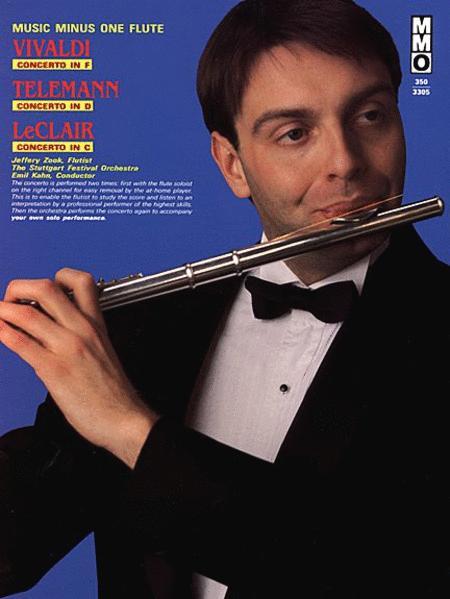 Vivaldi - Concerto in F, Telemann - Concerto in D, and LeClair - Concerto in C