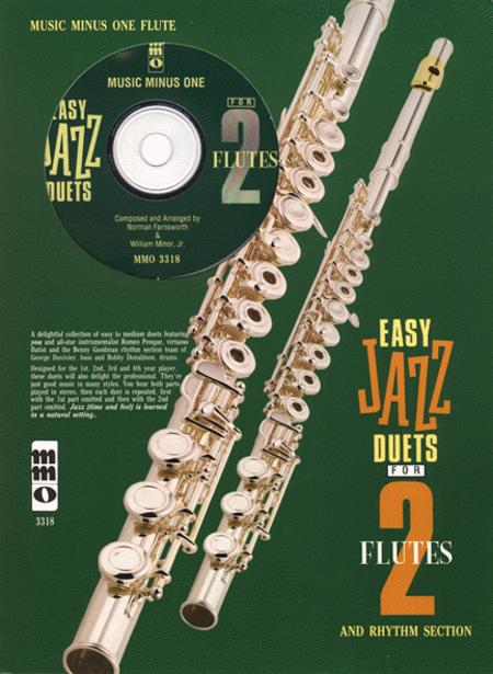 Easy Jazz Duets for 2 Flutes and Rhythm Section