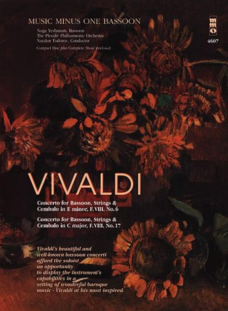 Vivaldi - Concertos for Bassoon, Strings & Cembalo No. 6 and No. 7
