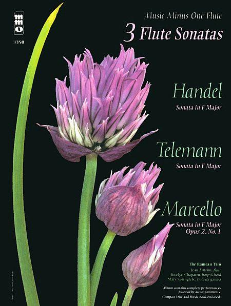 3 Flute Sonatas - Handel, Telemann, Marcello