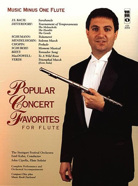 Popular Concert Favorites for Flute
