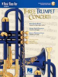 Three Trumpet Concerti: Haydn, Telemann, Fasch - Music Minus One