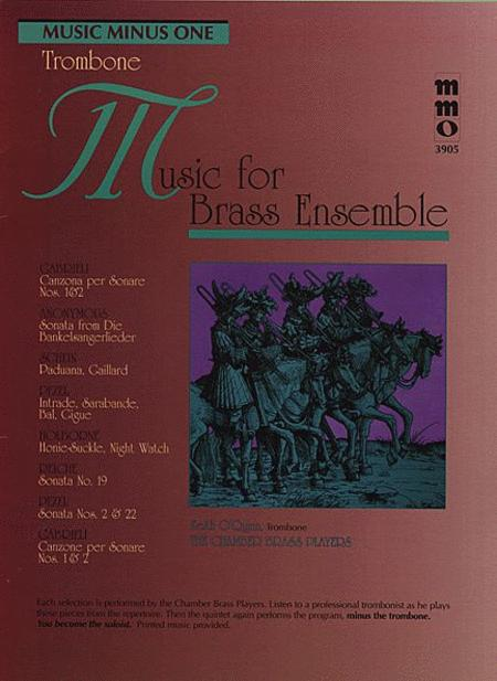 Music for Brass Ensemble - Trombone