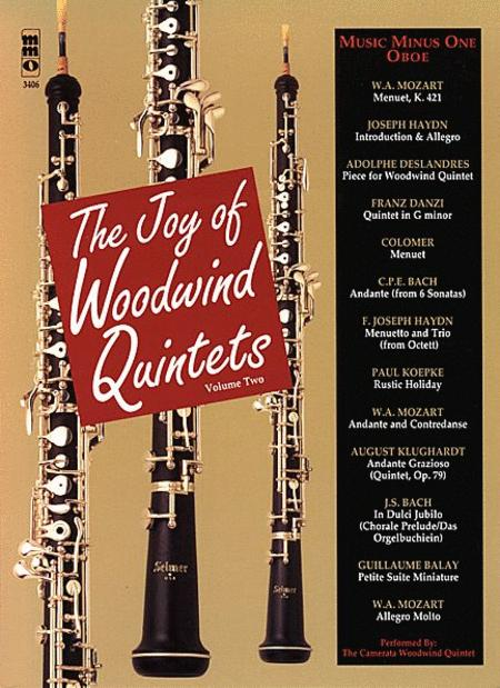 The Joy of Woodwind Quintets - Volume Two