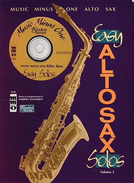 Easy Alto Sax Solos: Student Edition, Volume 2