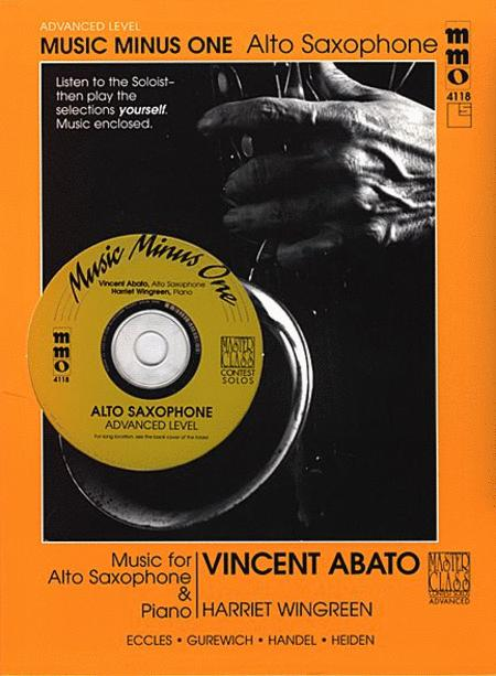 Advanced Alto Saxophone Solos - Vol. IV