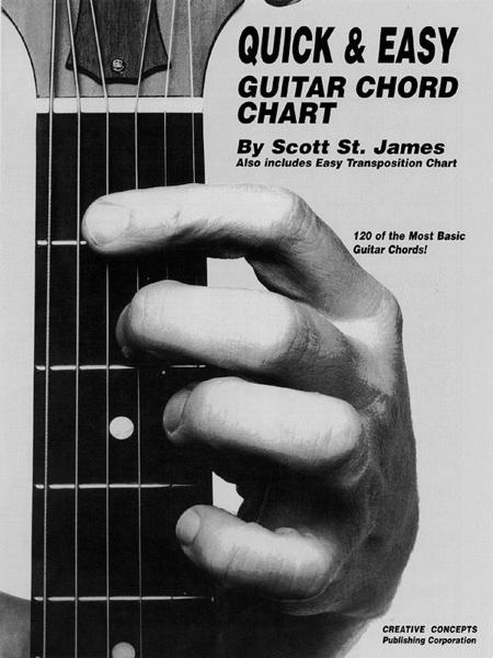 Quick and Easy Guitar Chord Chart
