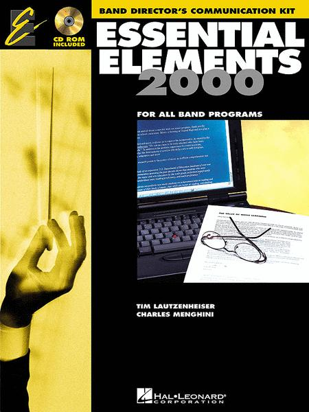 Essential Elements for Band, Directors Communication Kit