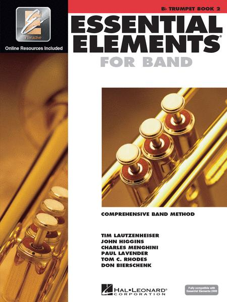 Essential Elements for Band, Book 2 with EEi (Bb Trumpet)