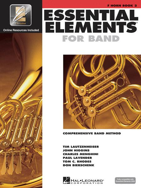 Essential Elements for Band - Book 2 with EEi (F Horn)