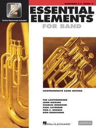 Essential Elements for Band - Book 2 with EEi (Baritone B.C.)