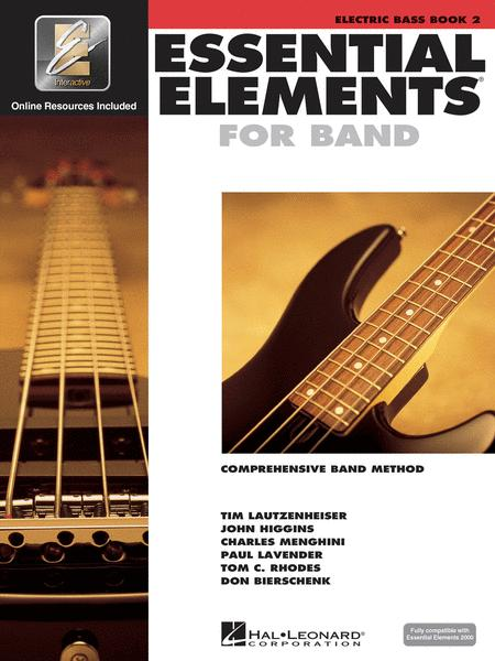 Essential Elements 2000 - Book 2 (Electric Bass)