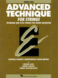 Essential Elements - Advanced Technique for Strings (Double Bass) - Book only
