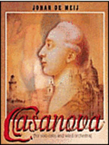 Casanova Full Score - For Solo Cello And Wind Orchestra