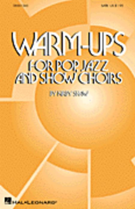 Warm-Ups for Pop, Jazz and Show Choirs - ShowTrax CD