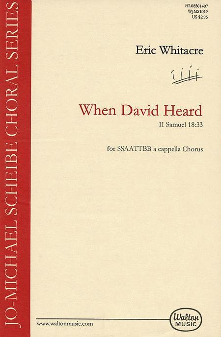 When David Heard - SSAATTBB