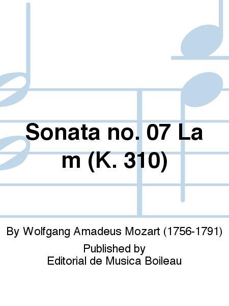 Sonata no. 07 La m (K. 310)