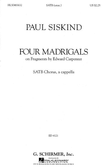 Four Madrigals
