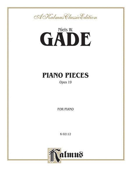 Piano Pieces, Op. 19
