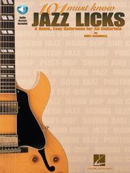 101 Must-Know Jazz Licks