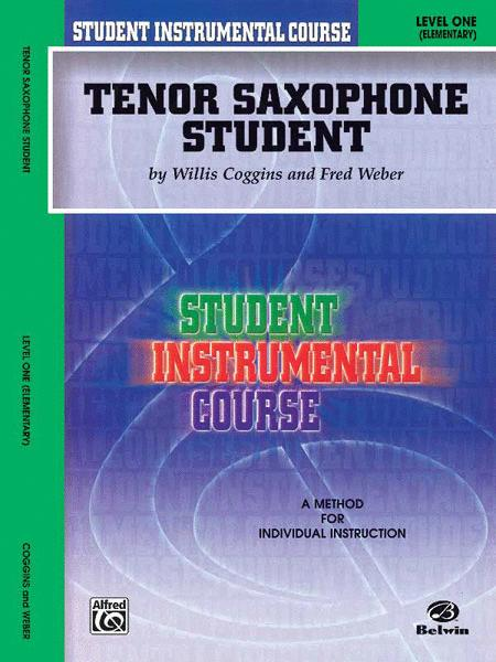 Student Instrumental Course Tenor Saxophone Student