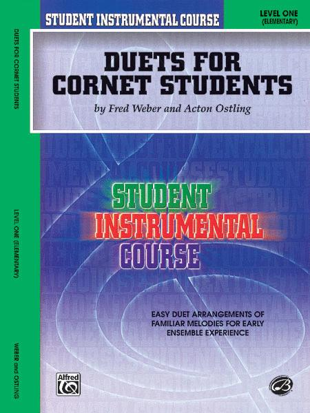 Student Instrumental Course Duets for Cornet Students