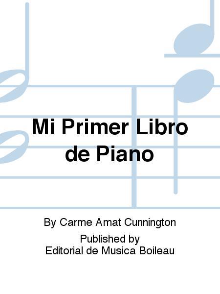 mi primer libro de piano amat cunnington pdf