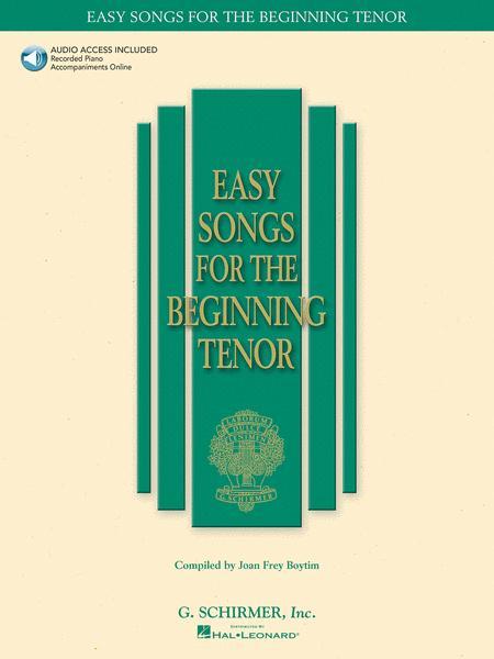 Easy Songs for the Beginning Tenor