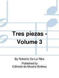 Tres piezas - Volume 3
