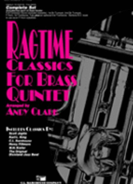 Ragtime Classics for Brass Quintet
