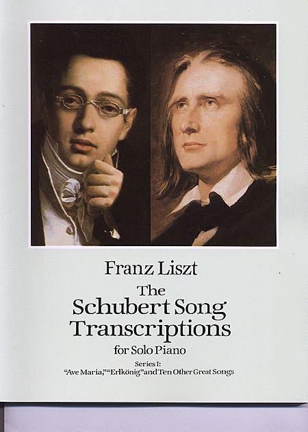 The Schubert Song Transcriptions For Solo Piano - Series I: