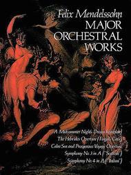 Major Orchestral Works