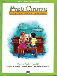 Alfred's Basic Piano Prep Course Theory, Book C