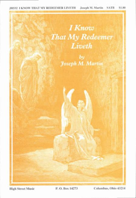 I Know That My Redeemer Liveth