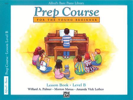 Alfred's Prep Course - Lesson Book (Level B)